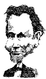 Lincoln caricature